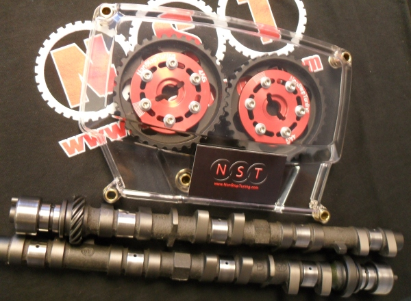 NST Adjustable Cam Gears & Clear Cover